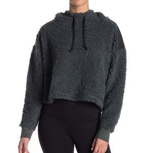 Z by zella Sheila fleece hooded pullover NWT
